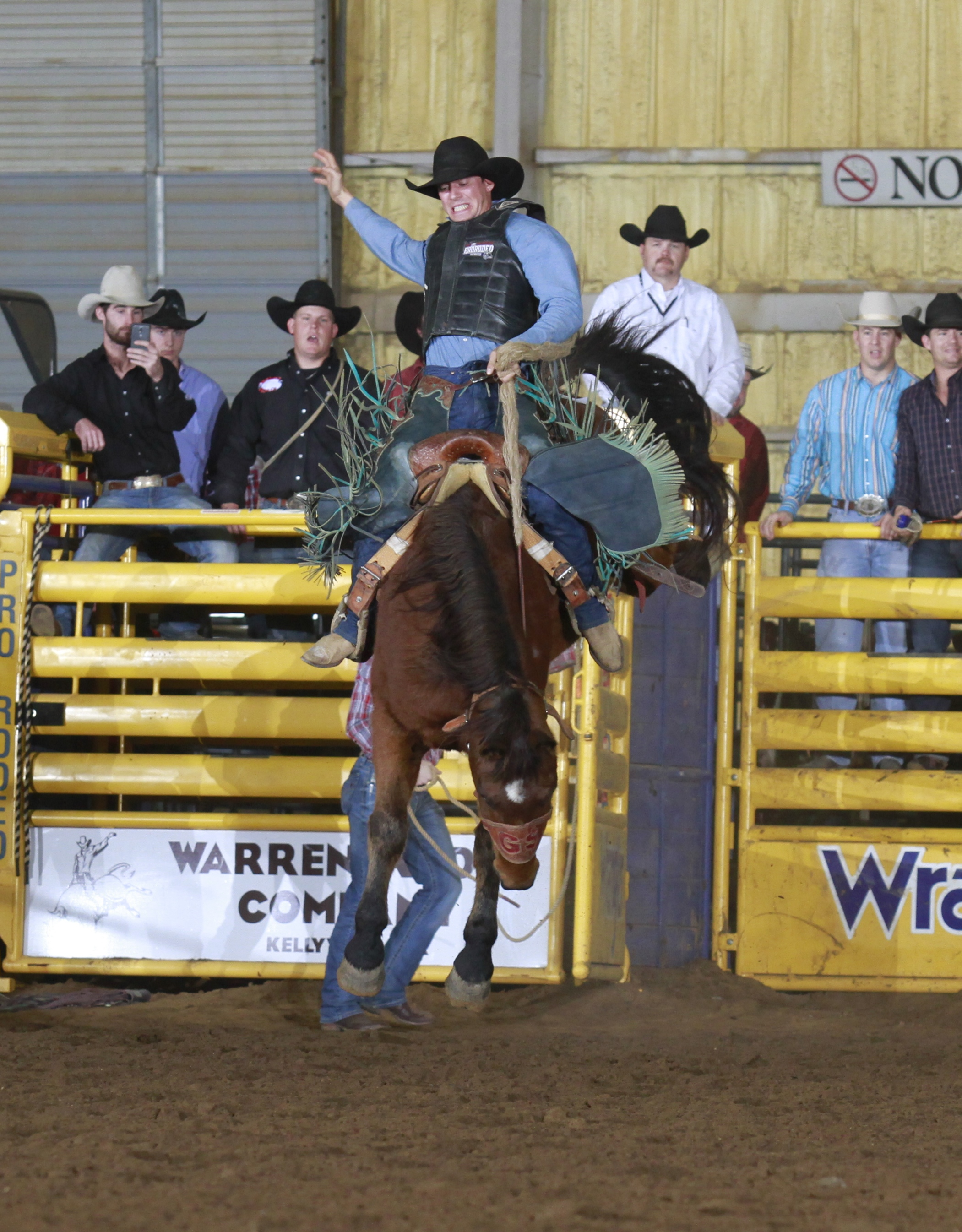 2017 Champion Saddle Bronc Rider - Cody Goertzen